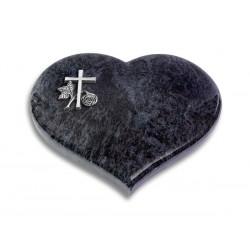 42 Grabstein Coeur/Orion (Alu Kreuz 1)
