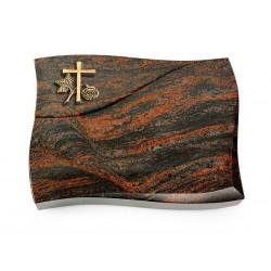57 Grabstein Firenze/Aruba (Bronze Kreuz 1)