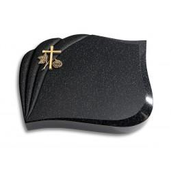 130 Grabstein Eterna/Indisch Impala (Bronze Kreuz 1)