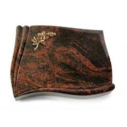 147 Grabstein Memory/Aruba (Bronze Rose 1)
