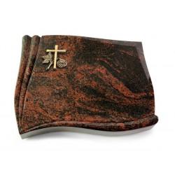 149 Grabstein Memory/Aruba (Bronze Kreuz 1)