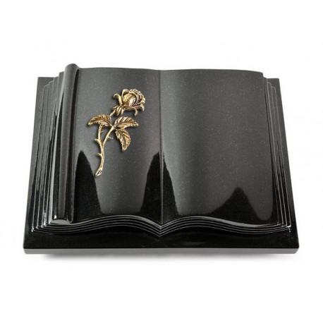 16 Grabbuch Antique/Indisch Black (Bronze Rose 2)