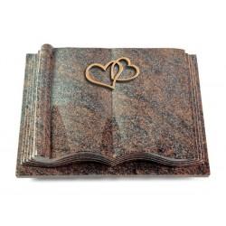 38 Grabbuch Antique/Paradiso (Bronze Herzen)