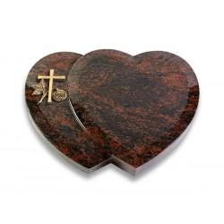 Grabstein Amoreux/Aruba (Bronze Kreuz 1)