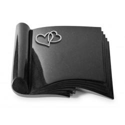 80 Grabbuch Prestige/Indisch Black (Alu Herzen)