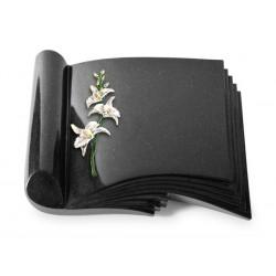 82 Grabbuch Prestige/Indisch Black (Color Orchidee)