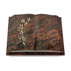122 Grabbuch Livre Pagina/Aruba (Bronze Efeu)