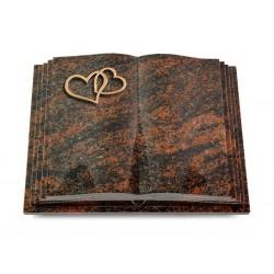 123 Grabbuch Livre Pagina/Aruba (Bronze Herzen)