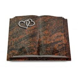 126 Grabbuch Livre Pagina/Aruba (Alu Herzen)