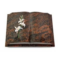 130 Grabbuch Livre Pagina/Aruba (Color Orchidee)