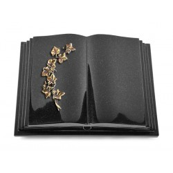 134 Grabbuch Livre Pagina/Indisch Black (Bronze Efeu)