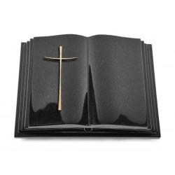 136 Grabbuch Livre Pagina/Indisch Black (Bronze Kreuz 2)