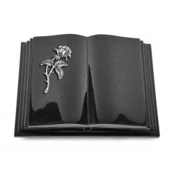 141 Grabbuch Livre Pagina/Indisch Black (Alu Rose 2)
