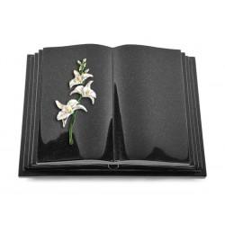 142 Grabbuch Livre Pagina/Indisch Black (Color Orchidee)