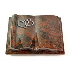 Grabbuch Antique/Aruba (Alu Herzen)