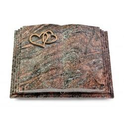 159 Grabbuch Livre Pagina/Paradiso (Bronze Herzen)