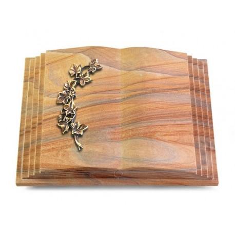 170 Grabbuch Livre Pagina/Rainbow (Bronze Efeu)