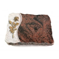 20 Grabplatte Wave/Aruba (Bronze Rose 13)