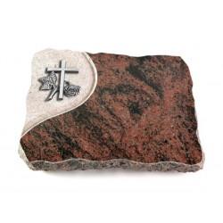 25 Grabplatte Folio/Aruba (Alu Kreuz 1)