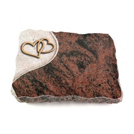 26 Grabplatte Folio/Aruba (Bronze Herzen)