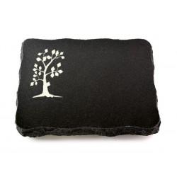 62 Grabplatte Indisch Black (Baum 1)