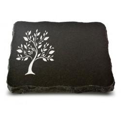 68 Grabplatte Indisch Black (Ökoline Baum 2)