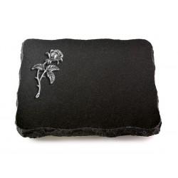 72 Grabplatte Indisch Black (Alu Rose 2)