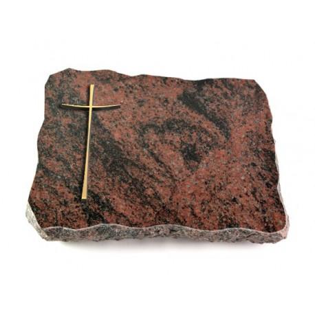 Grabplatte Aruba (Bronze Kreuz 2)