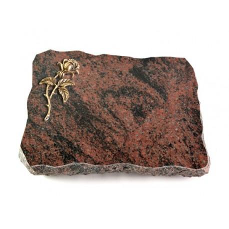 Grabplatte Aruba (Bronze Rose 2)