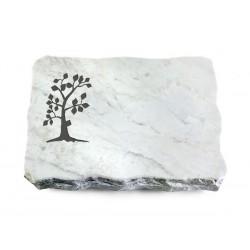 152 Grabplatte Marmor (Baum 1)