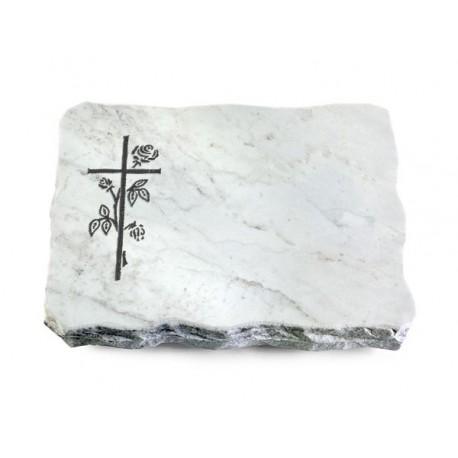 155 Grabplatte Marmor (Kreuz 2)