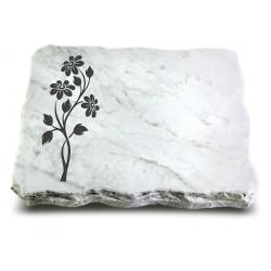 157 Grabplatte Marmor (Ökoline Blume 2)