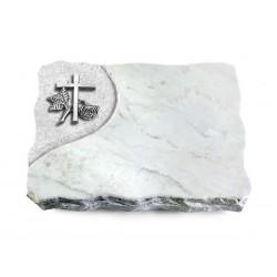 175 Grabplatte Folio/Marmor (Alu Kreuz 1)
