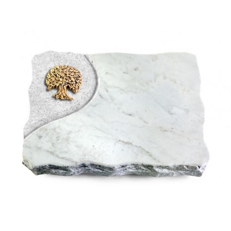 177 Grabplatte Folio/Marmor (Bronze Baum 3)