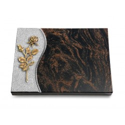 20 Grabtafel Wave/Aruba (Bronze Rose 13)