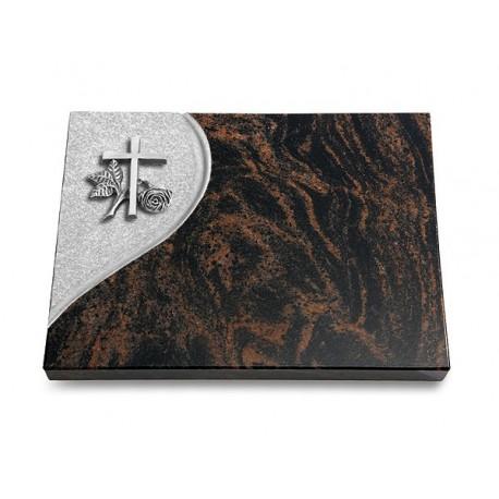 25 Grabtafel Folio/Aruba (Alu Kreuz 1)