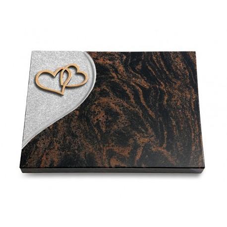 26 Grabtafel Folio/Aruba (Bronze Herzen)