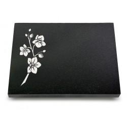 66 Grabtafel Indisch Black (Ökoline Blume 1)