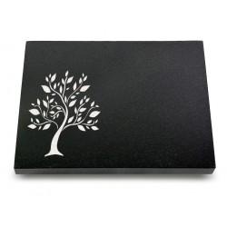 68 Grabtafel Indisch Black (Ökoline Baum 2)