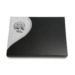 84 Grabtafel Folio/Indisch Black (Alu Baum 3)