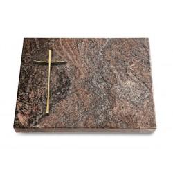 129 Grabtafel Paradiso (Bronze Kreuz 2)