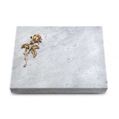 160 Grabtafel Marmor (Bronze Rose 2)