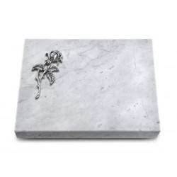 162 Grabtafel Marmor (Alu Rose 2)