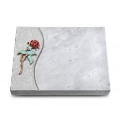 172 Grabtafel Wave/Marmor (Color Rose 2)
