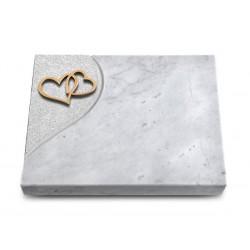 176 Grabtafel Folio/Marmor (Bronze Herzen)