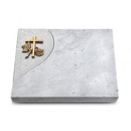 178 Grabtafel Folio/Marmor (Bronze Kreuz 1)