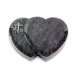 16 Grabstein Amoreux/Orion (Alu Kreuz 1)