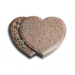 20 Grabstein Amoreux/Raw Silk (Bronze Efeu)