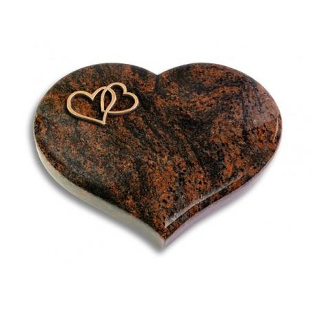 29 Grabstein Coeur/Aruba (Bronze Herzen)