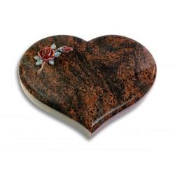36 Grabstein Coeur/Aruba (Color Rose 1)